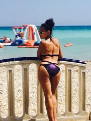 Altea Beach Espagne Bikini Missguided Roberto cavalli