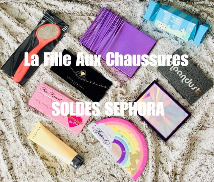 SOLDES –  HAUL SEPHORA URBAN DECAY ANASTASIA BEVERLY HILLS TOO FACED…