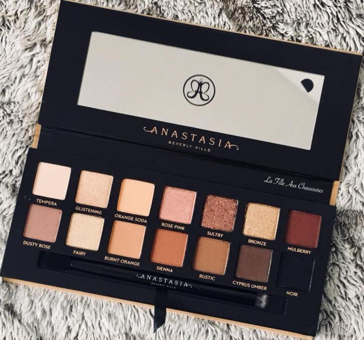 ANASTASIA BEVERLY HILLS – SOFT GLAM EYE SHADOW PALETTE REVUE ET SWATCHES