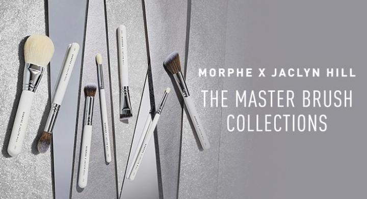 MORPHE – MORPHE x JACLYN HILL THE MASTER COLLECTION THE COMPLEXION MASTER COLLECTION & THE EYE MASTER COLLECTION