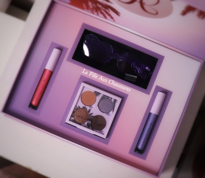 ANASTASIA BEVERLY HILLS – THE SUNSET COLLECTION  COFFRET MAQUILLAGE REVUE ET SWATCHES