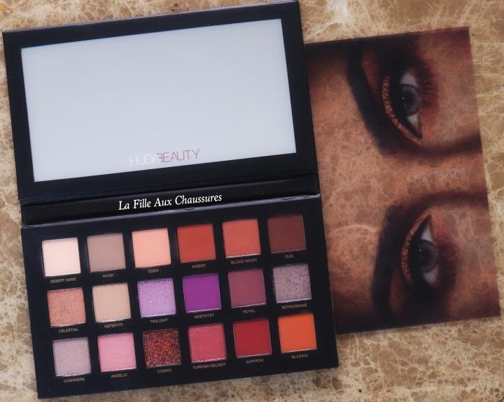 Huda Beauty – Desert Dusk Eyeshadow Palette – Revue &Swatches