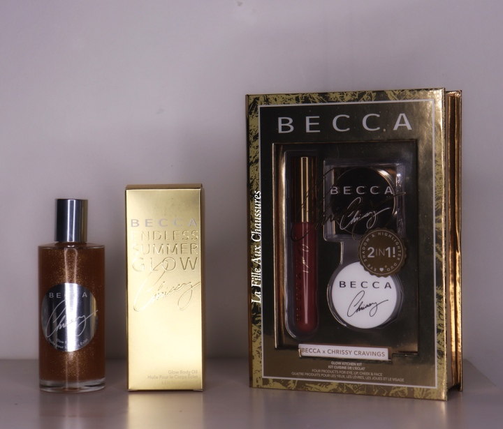 BECCA COSMETICS – BECCA X CHRISSY TEIGEN : GLOW KITCHEN KIT & GLOW BODY OIL REVUE ET SWATCHES
