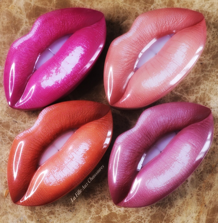 Huda Beauty Contour Strobe Lip Set – Bombshell & Ritzy, Trophy Wife & Shameless, Muse & Angelic, Trendsetter & Snobby – Revue &Swatches