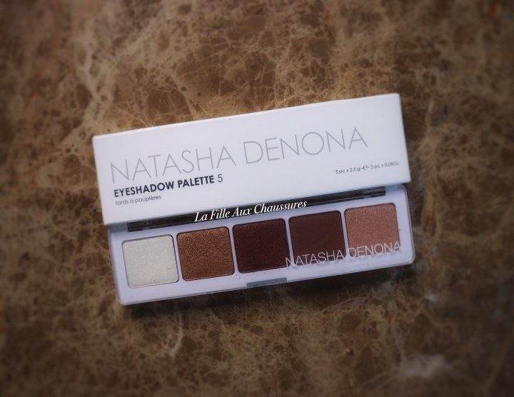 NATASHA DENONA – EYE SHADOW PALETTE 5 PALETTE 04 REVUE ET SWATCHES