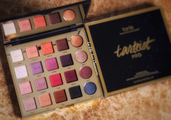 TARTE COSMETICS – TARTEIST PRO EYE SHADOW PALETTE REVUE ET SWATCHES