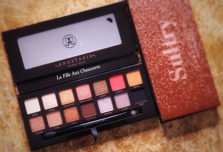 ANASTASIA BEVERLY HILLS – SULTRY EYE SHADOW PALETTE REVUE ET SWATCHES