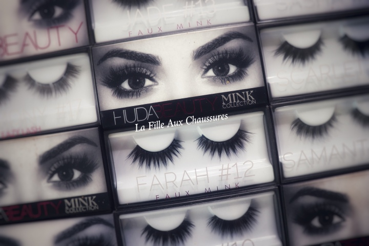 HUDA BEAUTY COLLECTIONS FAUX CILS – MINK COLLECTION FAUX MINK EASY LASH & CLASSIC COLLECTION REVUE