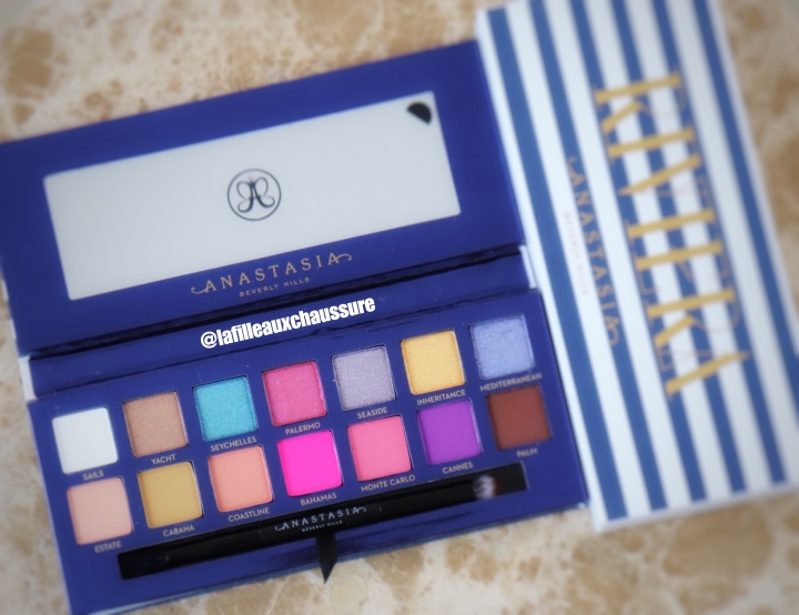 ANASTASIA BEVERLY HILLS RIVIERA EYE SHADOW PALETTE REVUE ET SWATCHES