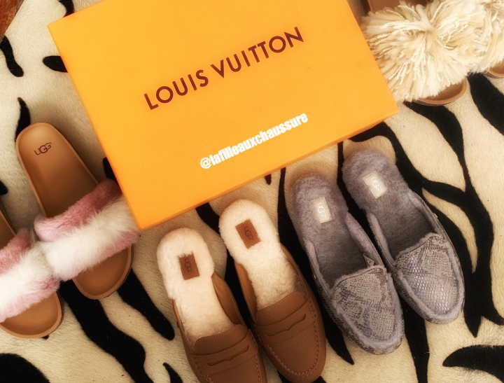 HAUL MODE SPECIAL CHAUSSURES –  LOUIS VUITTON & UGG