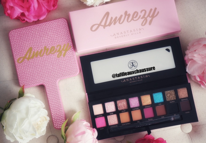 Anastasia Beverly Hills – Amrezy Collection – Eyeshadow Palette, Highlighter, Miroir – Revue & Swatches