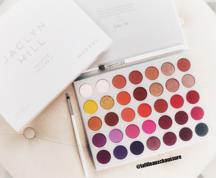 Morphe – The Jaclyn Hill Eyeshadow Palette Vol 2 – Revue & Swatches