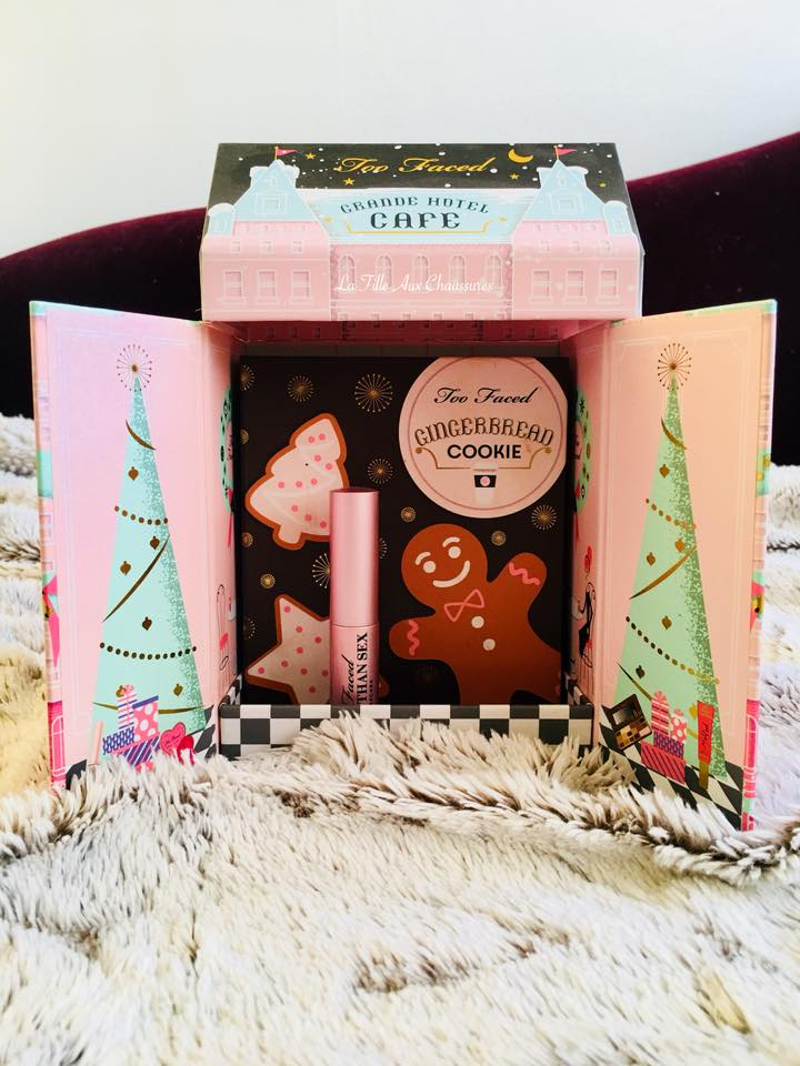 Too Faced – Grande Hotel Café Christmas In New York Revue &Swatches