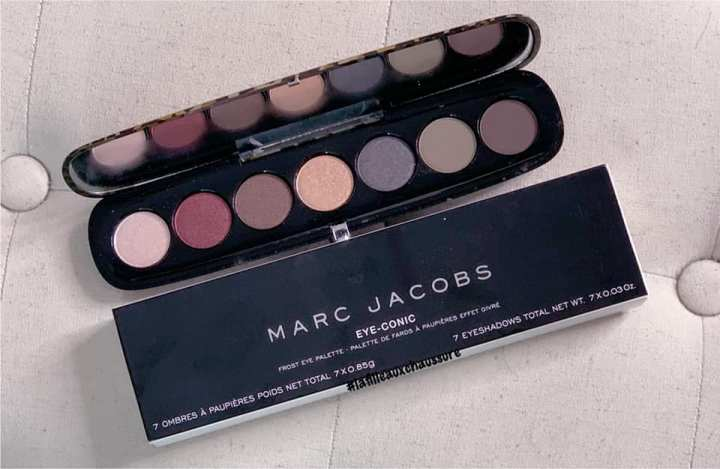 Marc Jacobs Eye-Conic Flam(boy)ant  Frost Eye Palette Revue & Swatches