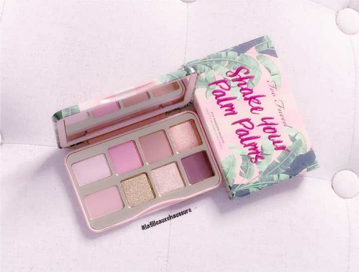 Too Faced Shake Your Palm Palms Eyeshadow Palette Revue & Swatches