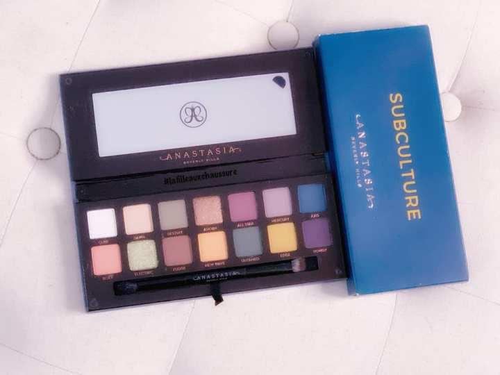 Anastasia Beverly Hills – Subculture Eyeshadow Palette Revue &Swatches