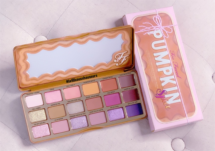 Too Faced – Pumpkin Spice Eyeshadow Palette Revue & Swatches