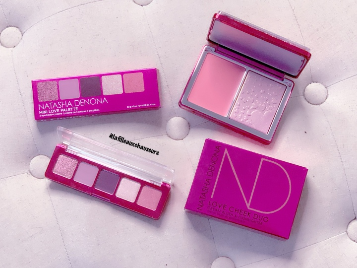 Natasha Denona Collection Saint-Valentin #2 – Mini Retro Eyeshadow Palette &  Bloom Highlighter Blush Revue &Swatches