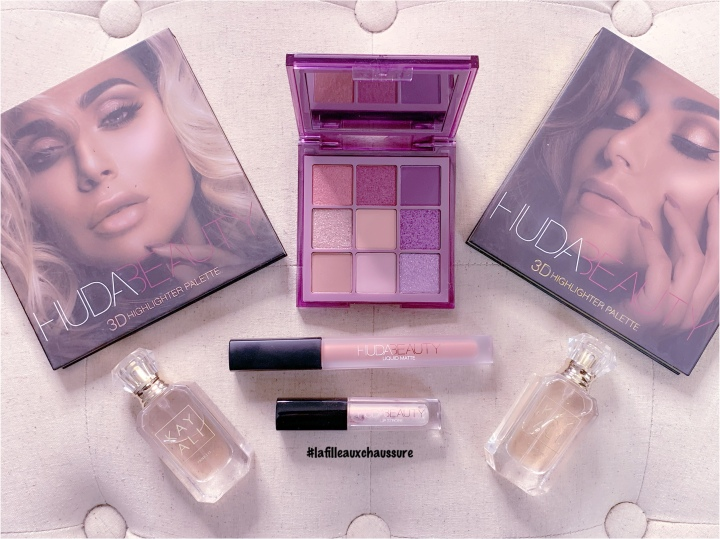 Huda Beauty – Haze Obsessions Purple Eyeshadow Palette Revue & Swatches