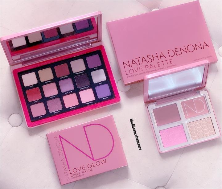 Natasha Denona Collection Saint-Valentin #1 – Love Eyeshadow palette & Love Glow Cheek Palette Revue &Swatches