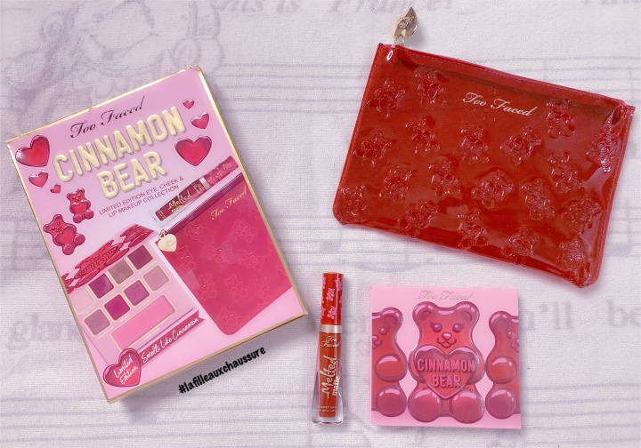 Too Faced Cinnamon Bear Makeup Collection Revue &Swatches