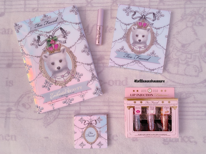 Too Faced Enchanted Beauty Unbearably Glam RevueSwatches